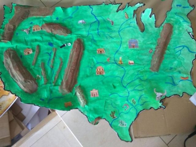 3D mapa, abychom se na západě neztratili